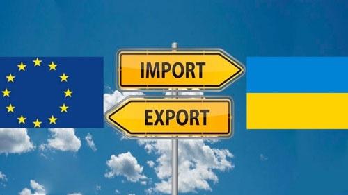 Украина использовала годовые квоты на беспошлинный экспорт в ЕС 10 товарных групп фото, иллюстрация