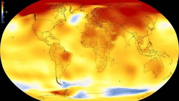 ФАО и NASA-GISS: 2017 - второй самый теплый год за всю историю наблюдений с 1880 года фото, иллюстрация