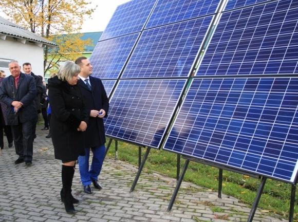 В Ивано-франковской области запустили сельскую солнечную электростанцию фото, иллюстрация
