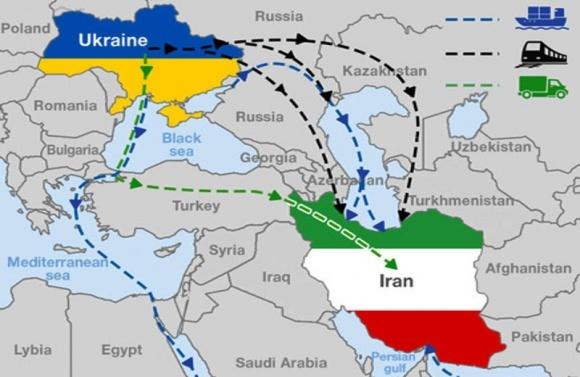 Украина запустит тестовый поезд с зерновыми в Иран фото, иллюстрация