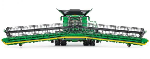 John Deere представила нову лінійку жаток для зернозбиральних комбайнів фото, ілюстрація