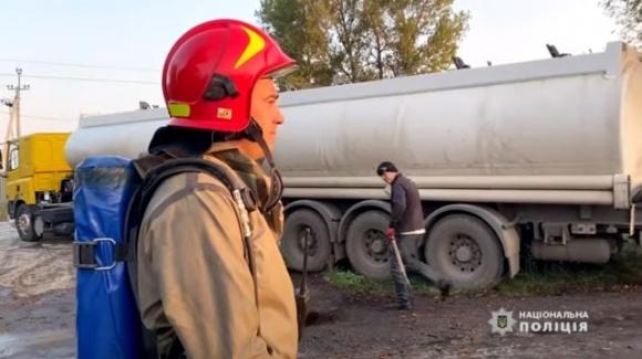 В Черкассах на предприятии произошла утечка азотных удобрений фото, иллюстрация