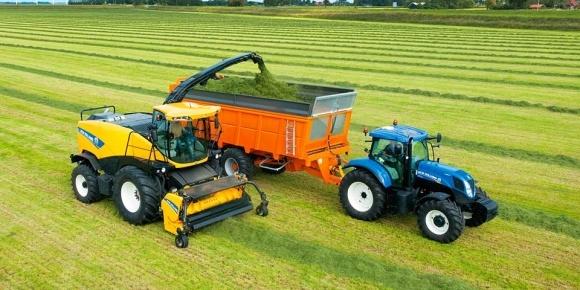 Комбайни Dinamica Generale модернізує New Holland Agriculture фото, ілюстрація
