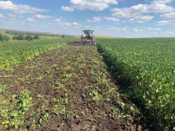 «Континентал Фармерз Групп» работает над возобновлением плодородия почвы фото, иллюстрация