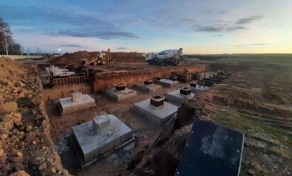 «Контінентал Фармерз Груп» розпочала будівництво нового картоплесховища фото, ілюстрація