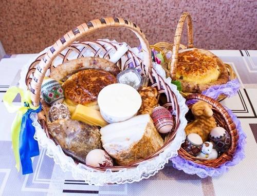 Пасхальная корзина традиционно самой дешевой будет в Тернопольской области, а самой дорогой, - в Киеве фото, иллюстрация