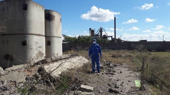 «Інститут здоров'я рослин» проводить комплексне дослідження наслідків викидів заводу «Кримський титан» фото, ілюстрація