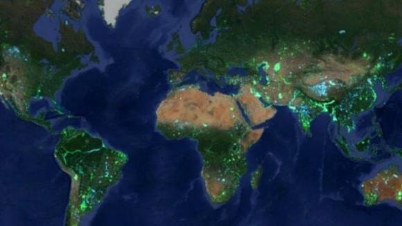 Площадь суши Земли глобально увеличивается фото, иллюстрация
