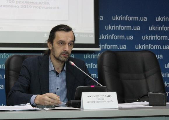 Председатель Госпродпотребслужбы Владимир Лапа публично отчитался о роботе — впервые за почти 2 года фото, иллюстрация