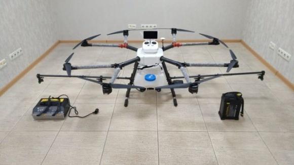 Украинцы представили летающий трактор для распыления СЗР и удобрений фото, иллюстрация