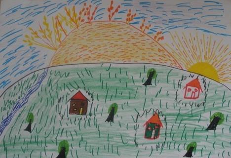 HarvEast організує на Донеччині конкурс дитячих малюнків фото, иллюстрация