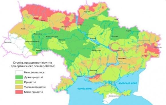 Ученые исследовали в каких областях Украины почва больше всего подходит для органического земледелия фото, иллюстрация