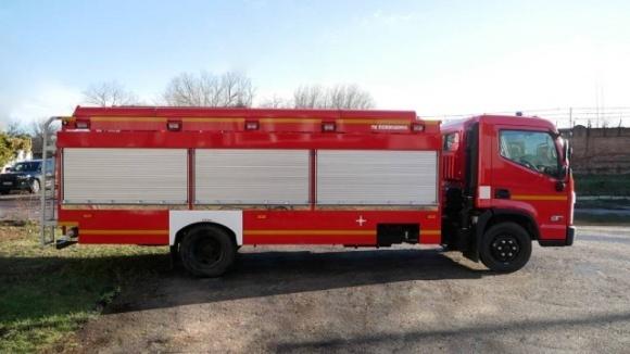 В Украине для сельской местности создали специальную пожарную машину фото, иллюстрация