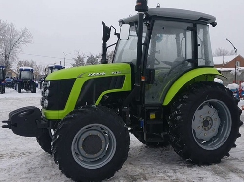 На український ринок вийшов трактор від Zoomlion фото, ілюстрація