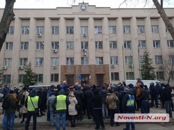 У Миколаєві фермери пікетують податкову фото, ілюстрація
