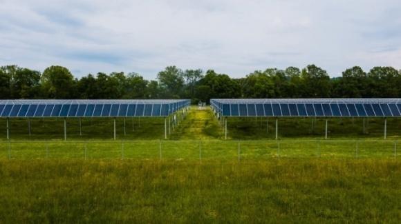 Фермеры Германии собирают двойной урожай с помощью солнечной энергии фото, иллюстрация