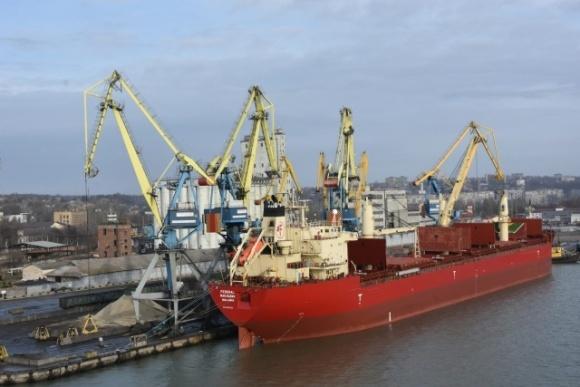 В Мариупольском порту началась погрузка зерновых нового урожая фото, иллюстрация