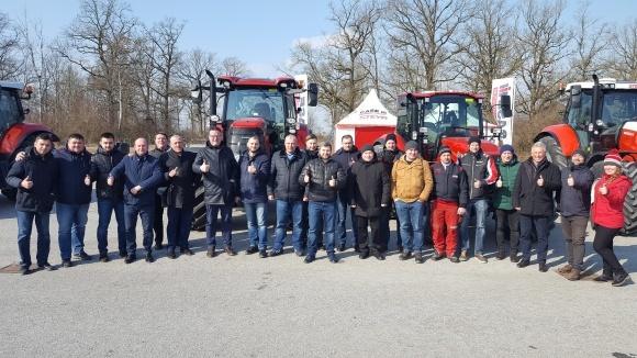 """Визит делегации Агрохолдинга """"Мрия"""" на производство тракторов Case IH в Австрии фото, иллюстрация"""
