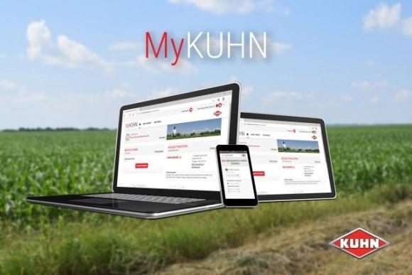 Теперь технику KUHN можно обслуживать онлайн! фото, иллюстрация