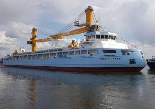 Нібулон спустив на воду своє найбільше судно – плавучий кран довжиною 140 м із зерносховищем на 10 тис. тон фото, ілюстрація