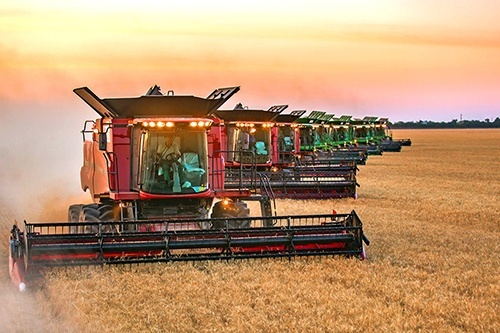 В «Нибулоне» близится к завершению уборочная кампания ранних зерновых фото, иллюстрация
