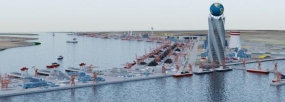 В Очаковском районе на Николаевщине планируют построить крупнейший порт на Черном море фото, иллюстрация
