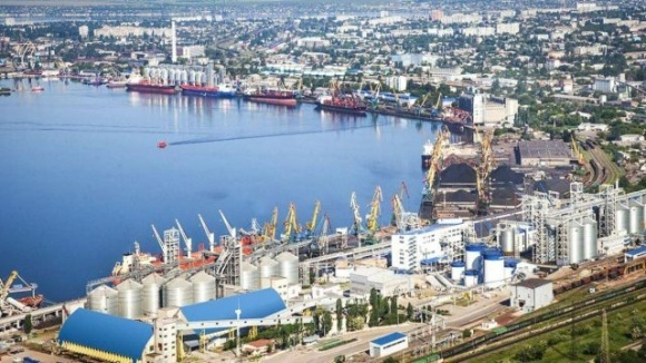 В Одесском порту завершается строительство комплекса по перевалке зерна фото, иллюстрация