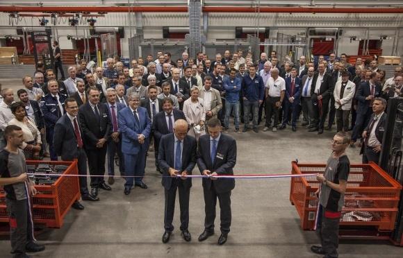 KUHN відкрив логістичний центр на заводі в Саверні і розширює виробництво в Монсвіллері фото, ілюстрація