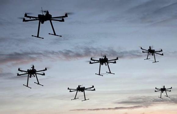 Італія планує використовувати зграї дронів проти бур'янів фото, ілюстрація