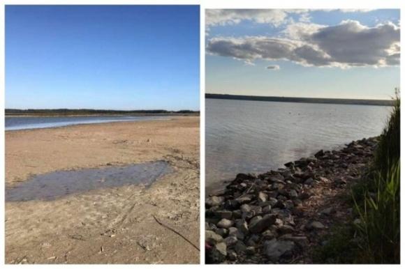 Самое большое озеро Одесчины исчезает из-за засухи фото, иллюстрация
