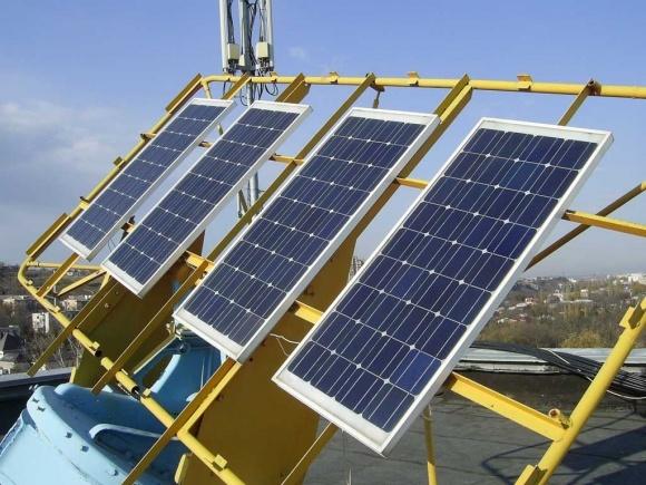 В пригороде Киева запустили солнечную электростанцию фото, иллюстрация