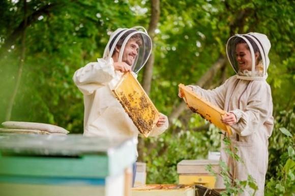 Украинская семья изготавливает необычные вкусы меда и вкусностей фото, иллюстрация