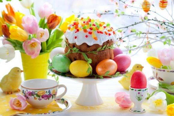 Поздравляем со светлым праздником Пасхи! фото, иллюстрация