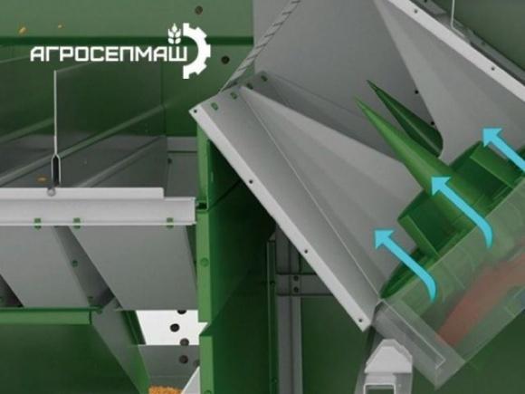 Запорожский производитель зерноочистительной техники запатентовал свое изобретение в США фото, иллюстрация