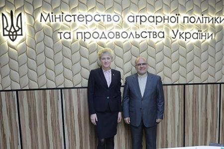 Украина и Иран заинтересованы в активном сотрудничестве в секторе АПК, - Ольга Трофимцева фото, иллюстрация