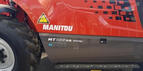 Manitou випробовує телескопічні навантажувачі з гібридним і електричним приводом фото, ілюстрація