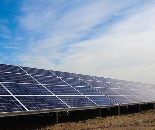 Під Нікополем відкрили найбільшу в Україні сонячну електростанцію фото, ілюстрація