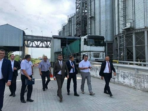 """""""Укрзализныця"""" открыла в Одессе первый зерновой терминал фото, иллюстрация"""