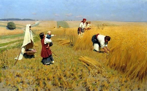 """Учені """"розібрали"""" картину художника М. Пимоненка на аграрні складові фото, ілюстрація"""
