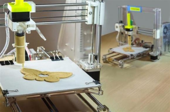 3D-принтер приспособили для печати еды из криогенной муки фото, иллюстрация