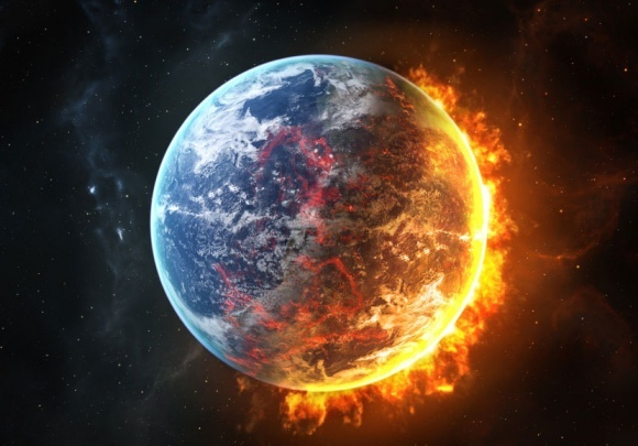 Ученые сообщили, когда на Земле наступит климатический коллапс фото, иллюстрация