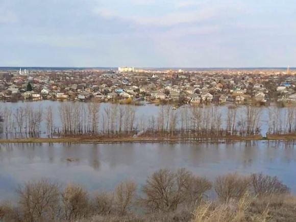 Чи буде в Україні весняна повінь після танення снігів? фото, ілюстрація