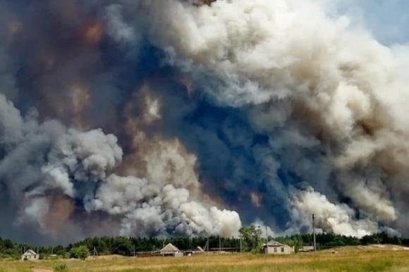 Масштабні пожежі на Луганщині спровокував фермер, який не хотів переорювати землю фото, ілюстрація