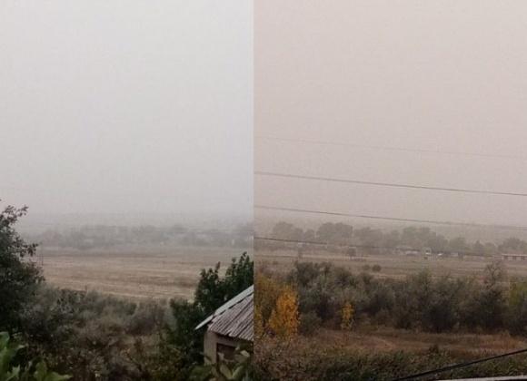 В Донецкой области из-за засухи и проблем с почвой поднялась пыльная буря фото, иллюстрация
