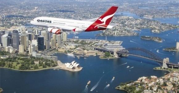 Самолет на горчичном масле совершил первый рейс из США в Австралию фото, иллюстрация