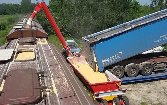 Тернопільщина вже відчуває дефіцит вагонів-зерновозів фото, ілюстрація
