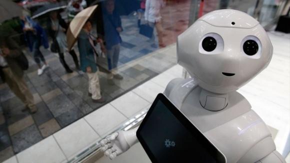 В Японії не бояться, що роботи відберуть у людей роботу фото, ілюстрація