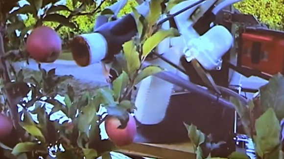 Создан робот для сбора яблок (Видео) фото, иллюстрация