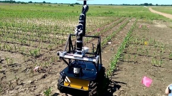 Робот защитит посевы от глобального потепления фото, иллюстрация