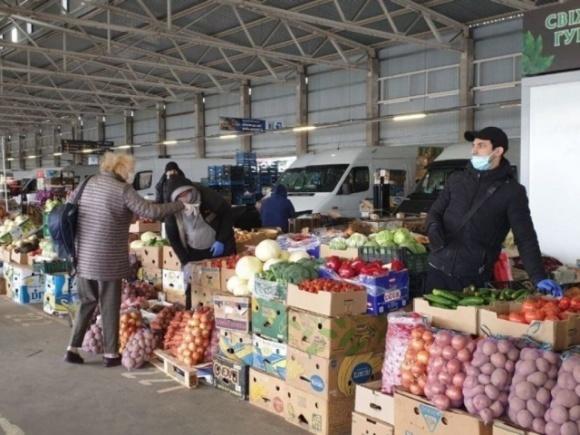 У Києві запрацювали три продуктові ринки фото, ілюстрація